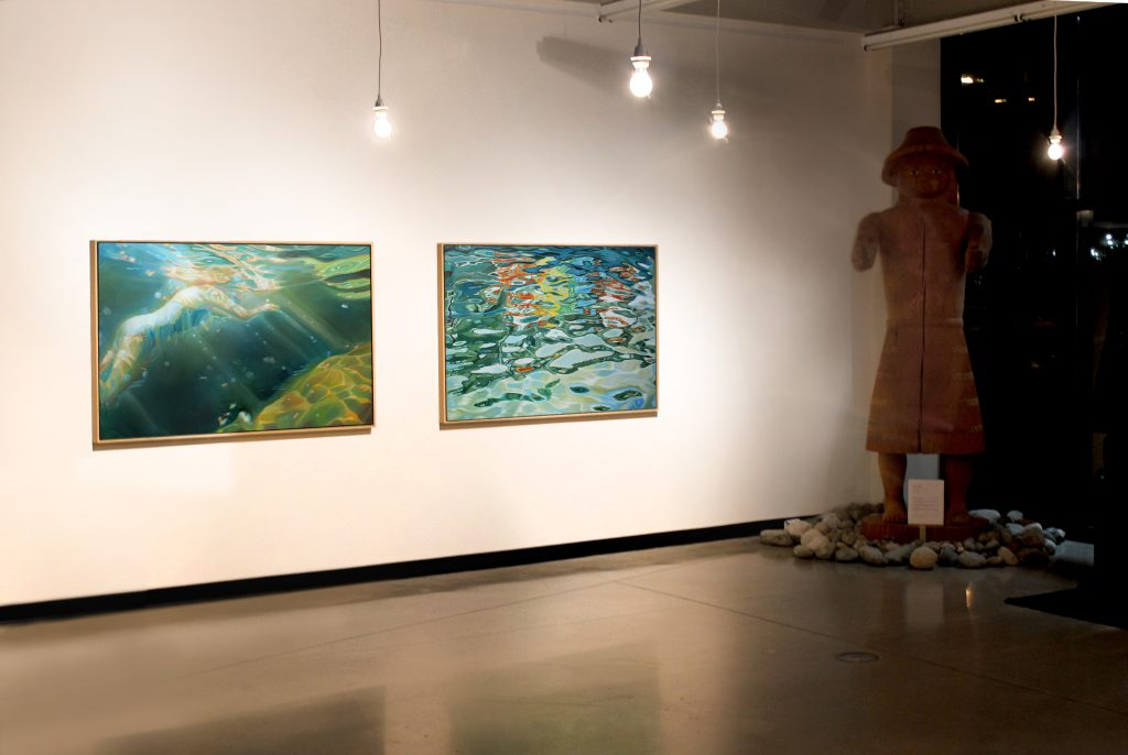 The Reach Art Museum, 2016 Solo Exhibition by Amelia Alcock-White The Ripple Effect The Reach , Abbotsford, BC.