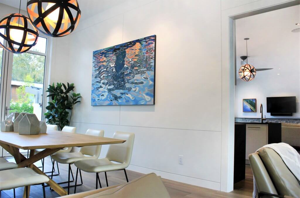 Artwork by Amelia Alcock-White showcased in an Architecture & Interior Design photo shoot for Peter Rose Architecture