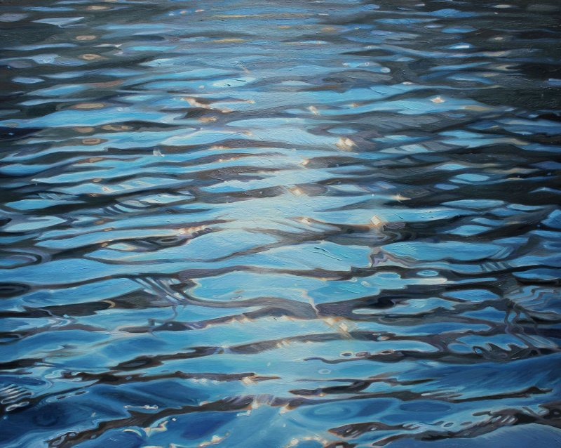 SPARK | 24x30 inches oil on canvas by Amelia Alcock-White