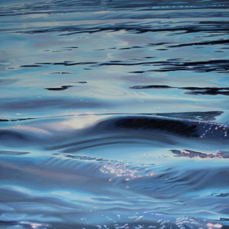 Vesuvius 30x30 oil on canvas